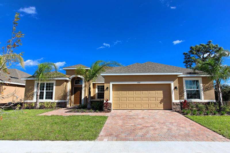 Front of Home - Watersong 5 Bed 4 Bath Pool Home (388-WATER) - Davenport - rentals