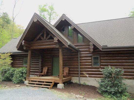 Heaven Sent front - Heaven Sent Norris Lake cabin rental includes a private covered dock and secluded cove. Enjoy! - New Tazewell - rentals