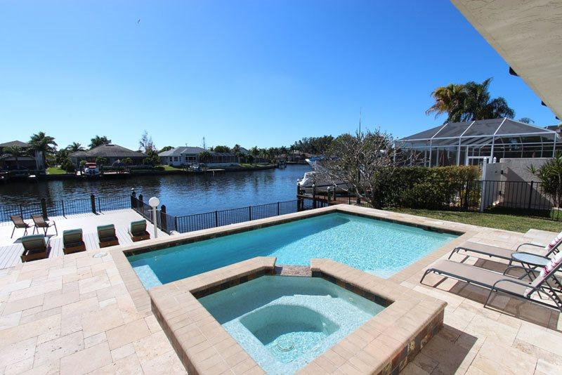 Gorgeous pool area - Villa Citrus - Cape Coral - rentals