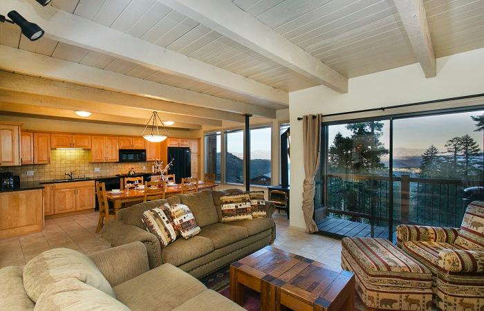 Timber Ridge #7 Open Concept Living Area - Looking for a Room with a View ? Timber Ridge #7 - Mammoth Lakes - rentals