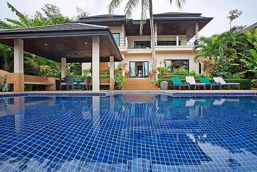 Mountain view villa at Nai Harn beach - Image 1 - Kata - rentals