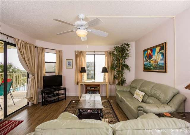 You'll be without a care as you settle into our easy-going room - Colony Reef 2307, 3rd floor, 3 bedrooms, heated pool, HDTV - Saint Augustine - rentals