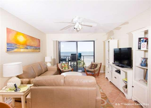 """Summerhouse 459 has all the comforts of home - Summerhouse 459 Ocean Front, 42"""" HDTV, Blue Ray - Saint Augustine - rentals"""