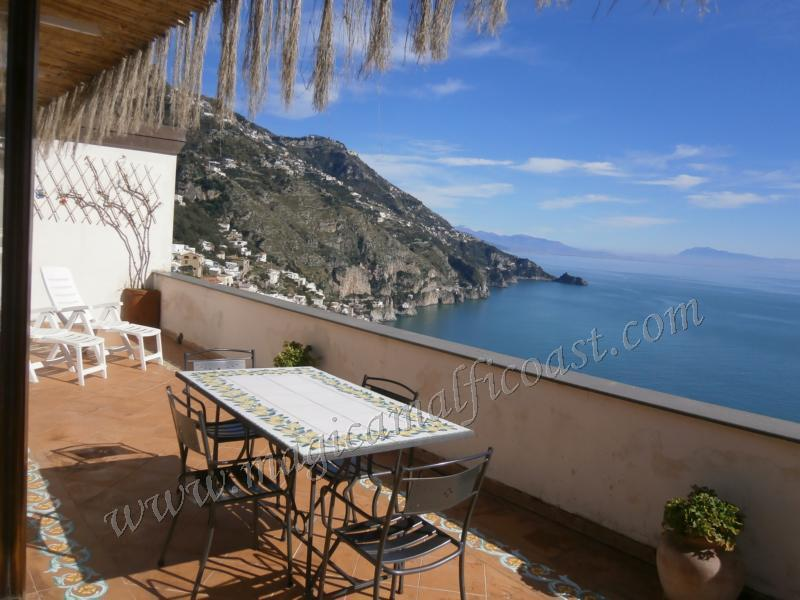 Casa Rosita - large terrace with seaview - Image 1 - Praiano - rentals