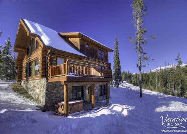 Powder Ridge 4 Chief Gull: Ski-In/Out Log Cabin Getaway Near Yellowstone - Image 1 - Big Sky - rentals