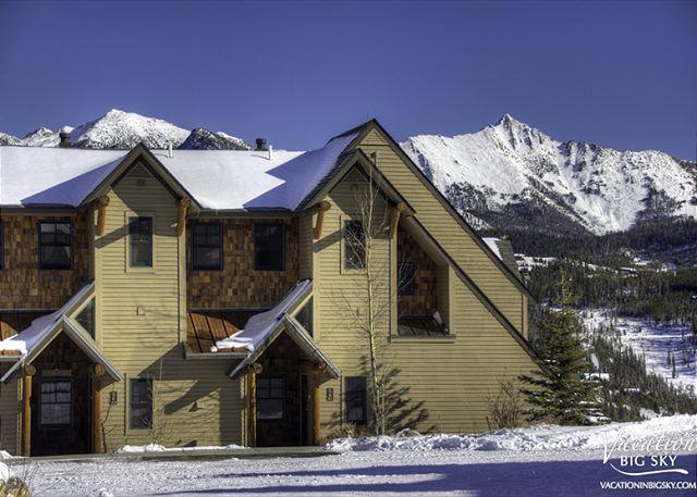 Saddle Ridge K1:Spacious Townhome, Private Hot Tub, Fireplace, Grill, & More! - Image 1 - Big Sky - rentals