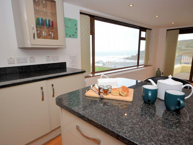 View from the kitchen area - SANAP - Portreath - rentals