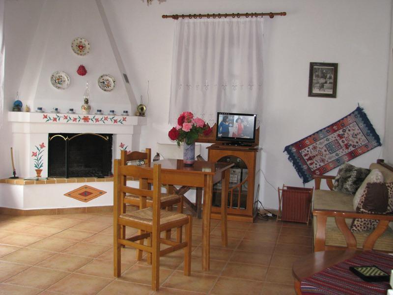 Agravlis fireplace and sitting room - Skopelos Agravlis Villa swimm pool - Skopelos - rentals