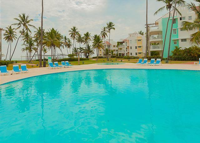 Playa Turquesa A104 - BeachFront,  Inquire About Discount Promo Code - Image 1 - Punta Cana - rentals