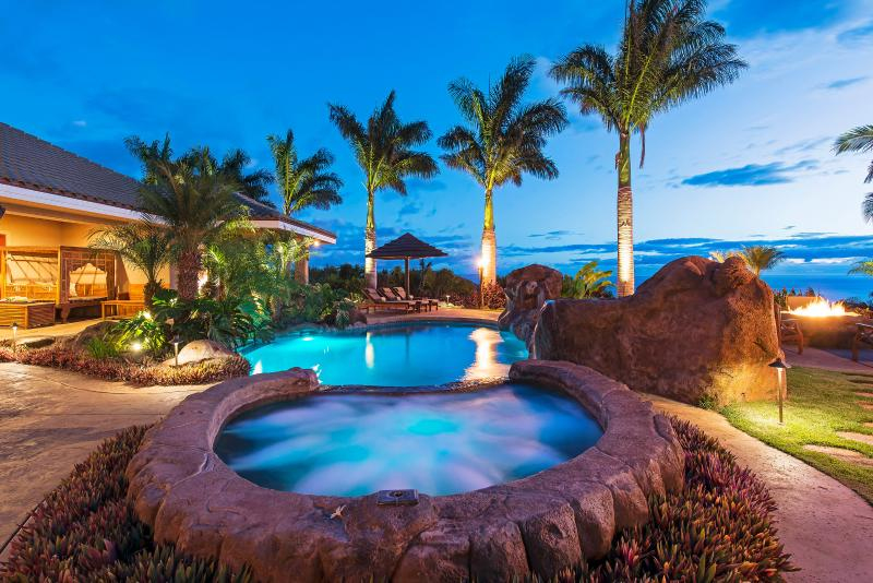 Luxury Home with Magnificent Pool! Sweeping 180 Degree Ocean Views! - Image 1 - Lahaina - rentals