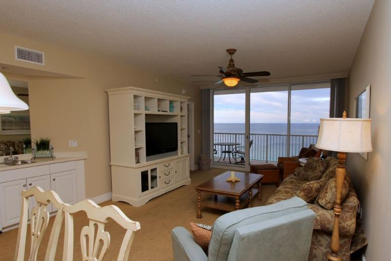 Living Area Features Gorgeous Gulf View - Majestic Beach Resort T2 Unit 1808 - Panama City Beach - rentals