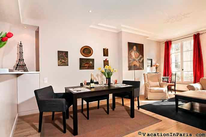 Splendid Heart of St. Germain Luxury One Bedroom - ID# 235 - Image 1 - Paris - rentals
