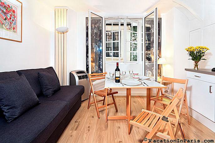 Cobblestone Delight St. Germain Studio - Image 1 - Paris - rentals