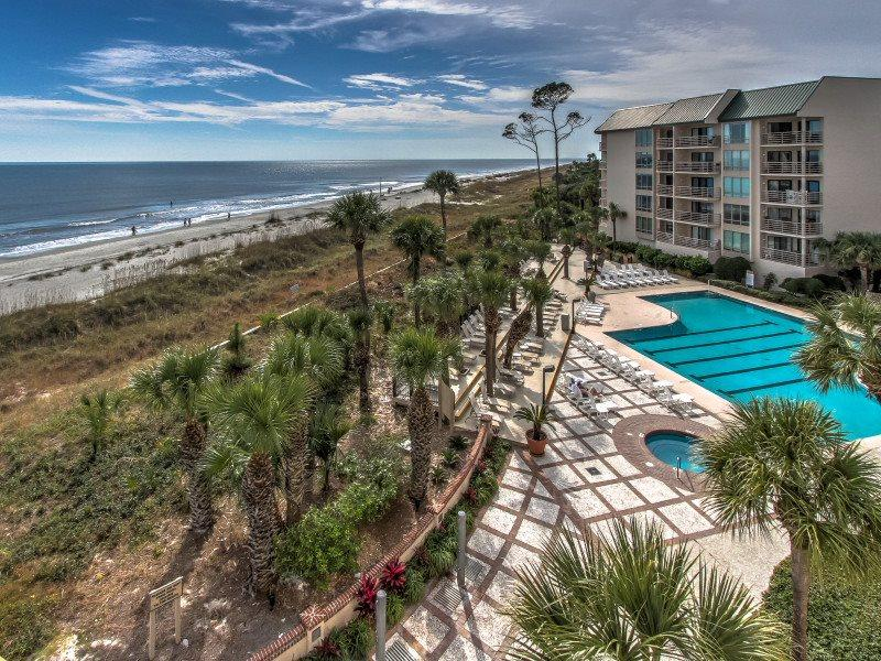 View from 1406 Villamare in Palmetto Dunes - 1406 Villamare - Hilton Head - rentals