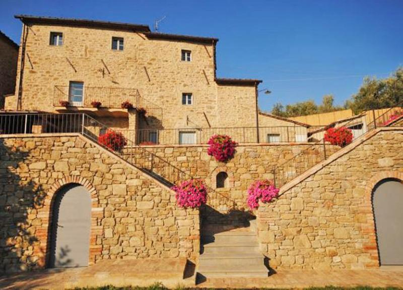 Main view of the Villa Acacia - Villa Acacia - Cortona - rentals