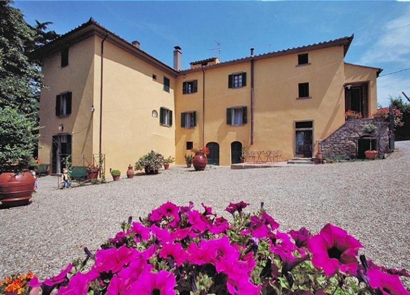 Main view of the villa - Villa Irenia - Cortona - rentals