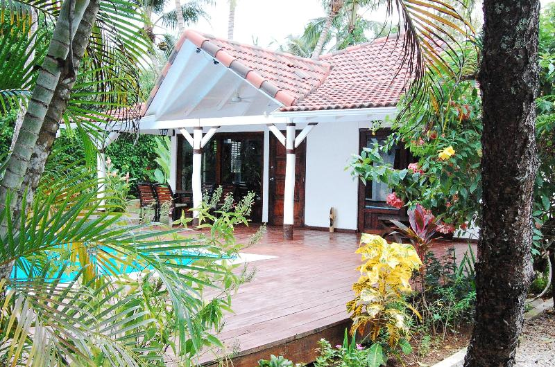 Main House - Villa El Secreto Charming Villa Steps from Beach - Las Terrenas - rentals