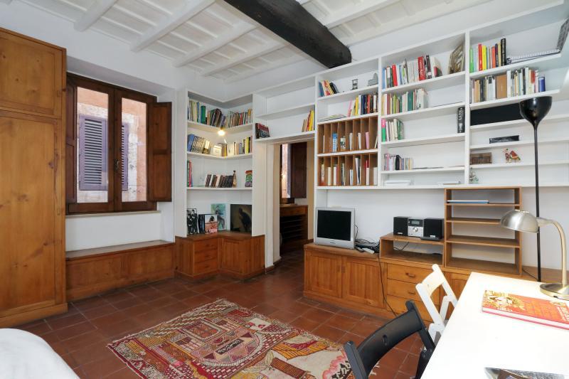 Living room - Jewel of 700 a few steps Navona Sq. free wifi - Rome - rentals