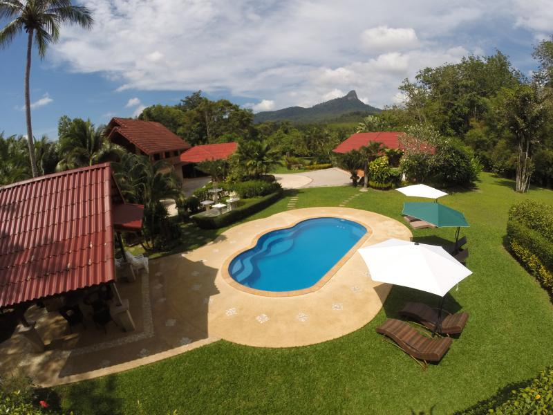"Exclusive and private. - Cliffside Lagoon ""Zipline"" Villa, Ao Nang, Krabi - Ao Nang - rentals"