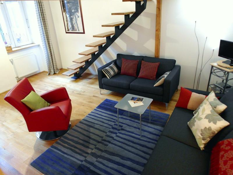 living room - Central Loft Apartment - Budapest - rentals