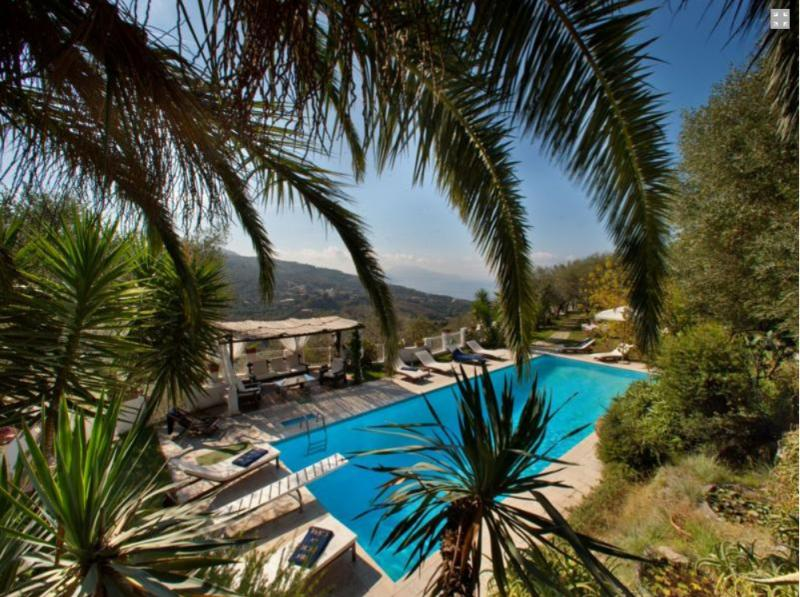 Private swimming pool - SEA AND CAPRI VIEW VILLA WITH PRIVATE POOL - Massa Lubrense - rentals