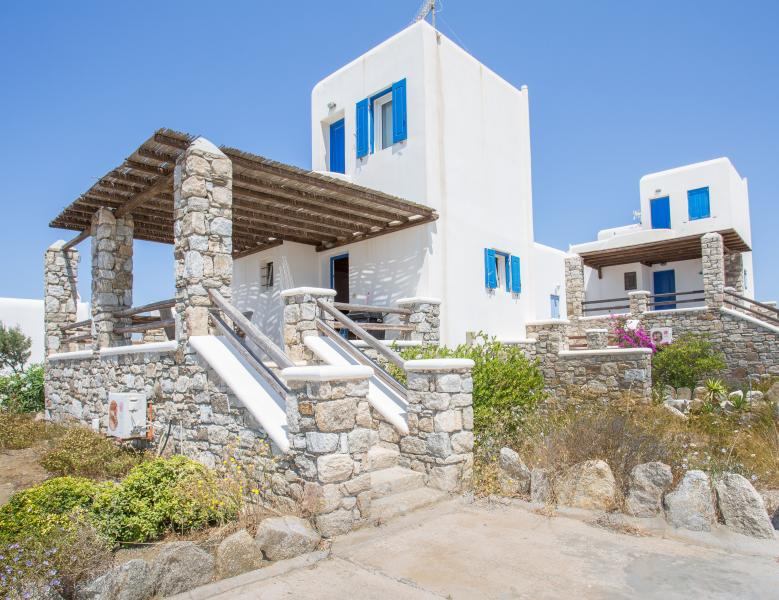 A House with Pool & Sea View in Ornos - Mykonos - Image 1 - Mykonos Town - rentals