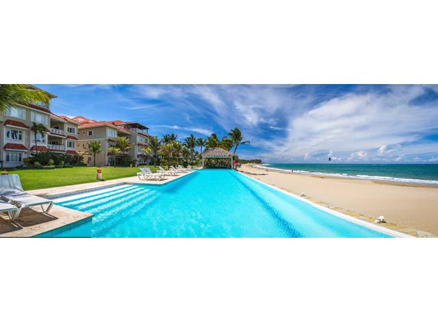 pool area Harmony - HARMONY 4 bedr / Stunning beachfront /Center CABAR - Cabarete - rentals
