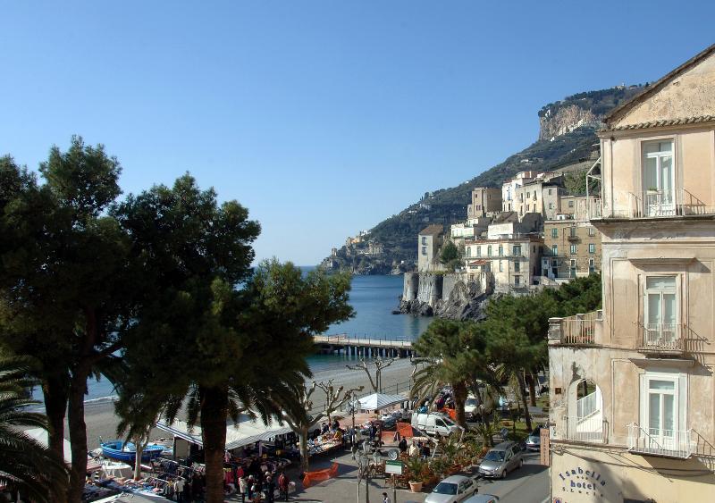 Seaview from the apartment - La Torricella - Sea front spacious apartment - Minori - rentals
