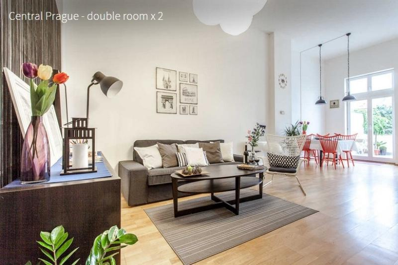 Floor Plan - 2 bedrooms city center apartment - Prague - rentals