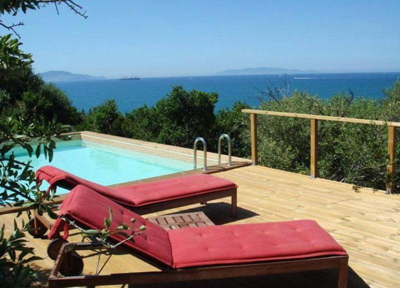 View of the seating arrangement near the pool - Villa Rocca - Talamone - rentals
