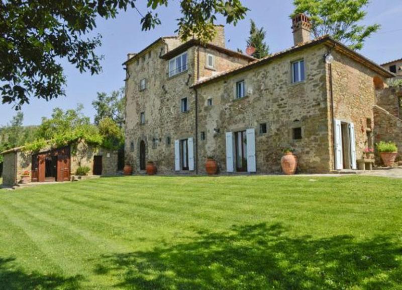 View of the Villa Torre Belle - Villa Torre Belle - Cortona - rentals