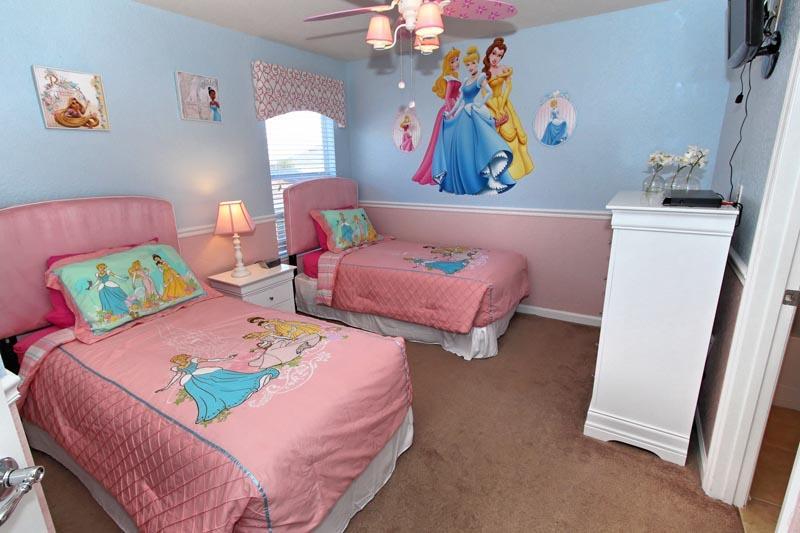 Princesses bedroom - Disney Daze Villa - Kissimmee - rentals