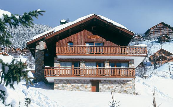 Chalet Le Vieux Bois - Image 1 - Meribel - rentals
