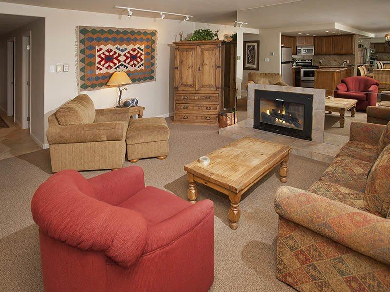 Living Room W/HD TV - Vantage-Point-105 - Vail - rentals