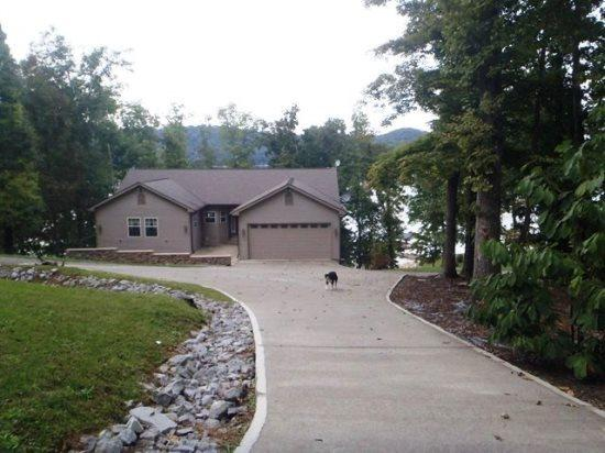 Entrance to Bridgeview Manor - This beautiful lakefront vacation home has a scenic view of Norris Lake and a private boat dock. - Maynardville - rentals