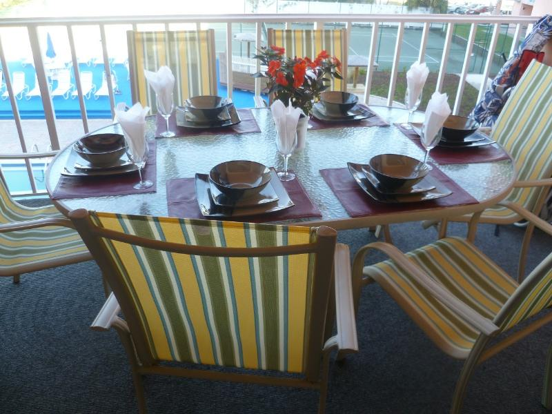 Balcony - YOUR 3 BR's BEACH-FRONT HOME AWAY FROM HOME - Indian Rocks Beach - rentals