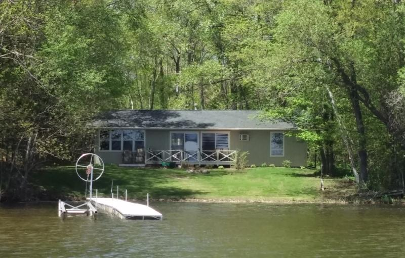 Beautiful level sand beach on Lac Courte Oreilles - Image 1 - Hayward - rentals
