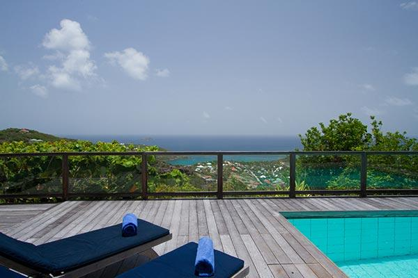 Quiet villa surrounded by spectacular tropical gardens & breathtaking view WV TDC - Image 1 - Vitet - rentals