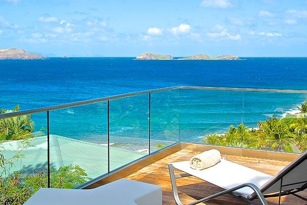 Overlooking Pointe Milou Bay, dramatic ocean views. WV UPS - Image 1 - Pointe Milou - rentals
