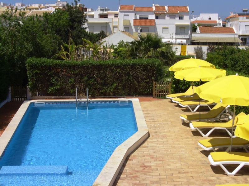 Pool view from terrace - Casarão - private villa in family property - Alvor - rentals
