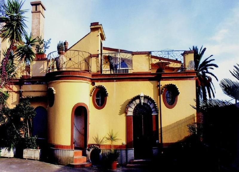 Main view of the Villa Elettra - Villa Elettra - Cava De' Tirreni - rentals