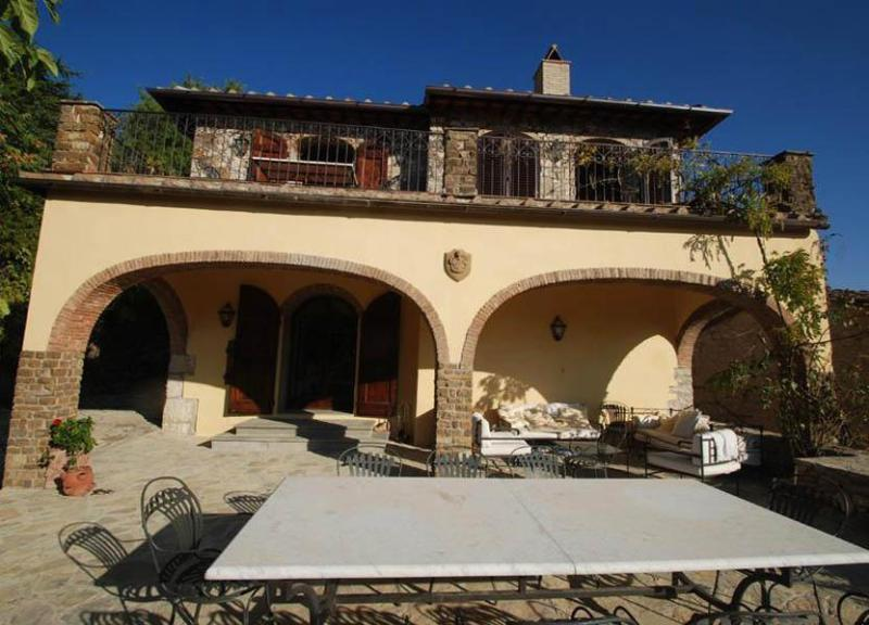 Front view of the villa - Villa Nicoletta - Greve in Chianti - rentals
