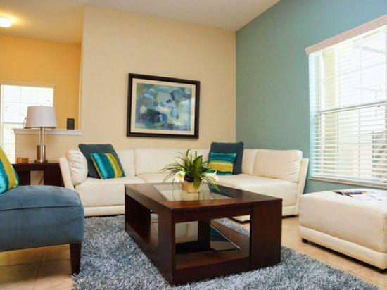 Living Area - PP5T8925CPR Elegant Vacation Townhouse close to Disney - Orlando - rentals