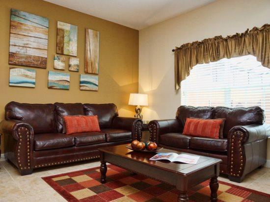 Living Area - PP4T3081BPA Elegant Home Near Walt Disney Orlando - Orlando - rentals