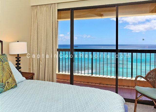 Sweeping ocean views, 2 bed, 2 bath upgraded condo with marble bathrooms. - Image 1 - Waikiki - rentals