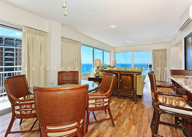 Panoramic Ocean Views Remodel-FREE Parking/WiFi, 2/2, AC, Washlet, Sleeps 6 - Image 1 - Waikiki - rentals