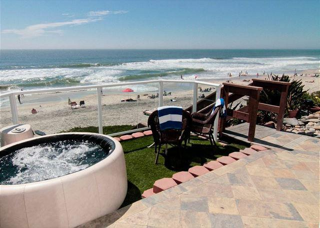 private spa - 6br, 6.5ba Beachfront Vacation Rental in Downtown Carlsbad - Carlsbad - rentals