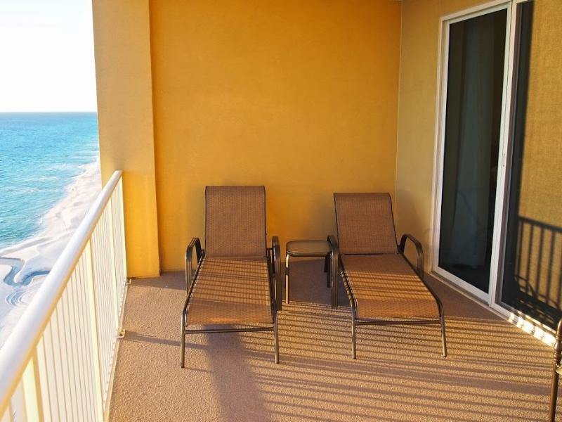 Amazing views from this private beach front balcony! - Stunning Beach Front condo at Tropic Winds! - Panama City Beach - rentals