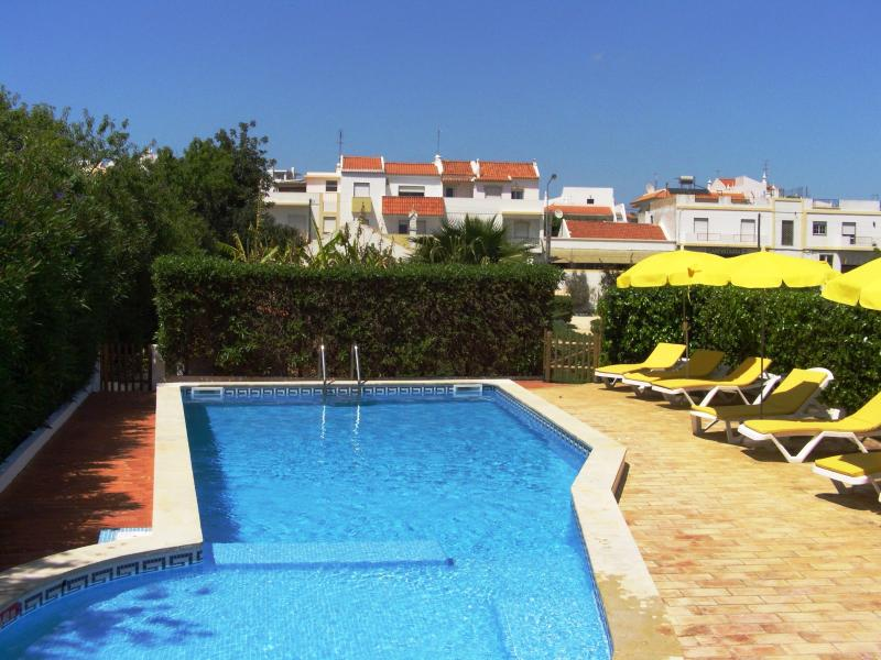 Pool and sunbeds - Casa dos Arcos - private villa in family property - Alvor - rentals