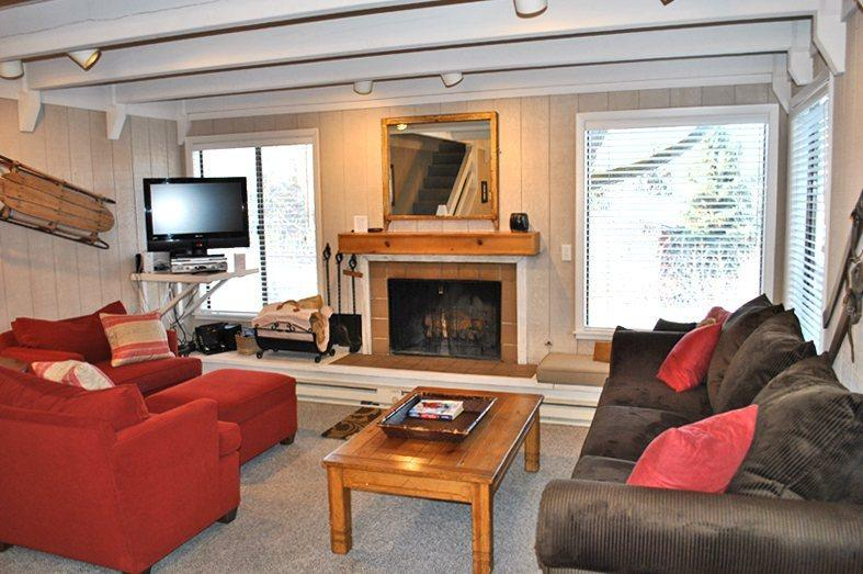 Living Room  - Villager #1290 - Sun Valley - close to village; - Sun Valley - rentals